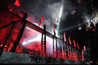 events management, employee motivation, event planner, Pink Floyd 30th anniversary tour