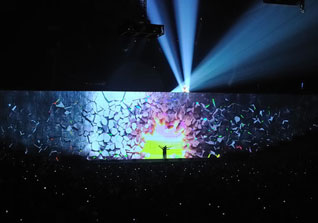 event management servies, Pink Floyd 30th anniversary tour, corporate video, corporate event