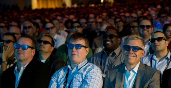 Blackberry World 2011, 3D, event management, innovation