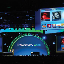 Blackberry World, event management, event planning, event planner, corporate events