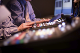 Image of a Technical Director working a corporate event