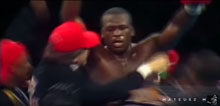 Buster Douglas tells an amazing story of knowing your why