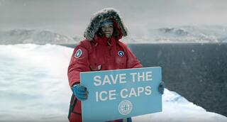 A hilarious video about save the planet efforts by actress Melissa McCarthy