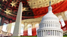 The National Anthem inspirational video showing great landmarks and inspirational national monuments