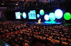 2000 guests at an event produced by the team at Opening Moments Media